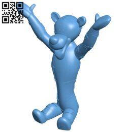 Tigger B008212 file stl free download 3D Model for CNC and 3d printer