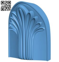 Top of the column A005291 download free stl files 3d model for CNC wood carving