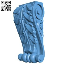 Top of the column A005367 download free stl files 3d model for CNC wood carving