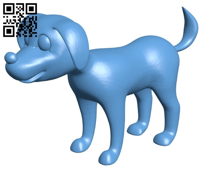 Toy puppy dog B008148 file stl free download 3D Model for CNC and 3d printer
