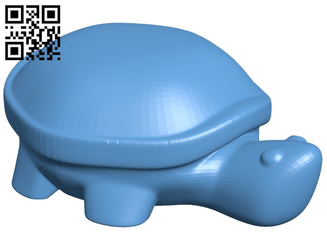 Turtle B008306 file stl free download 3D Model for CNC and 3d printer