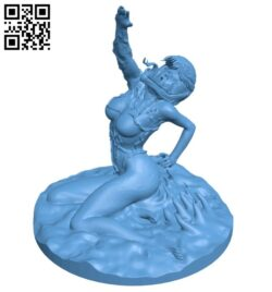 Venom women B008222 file stl free download 3D Model for CNC and 3d printer