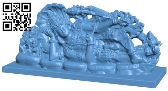 Vishnu B008219 file stl free download 3D Model for CNC and 3d printer