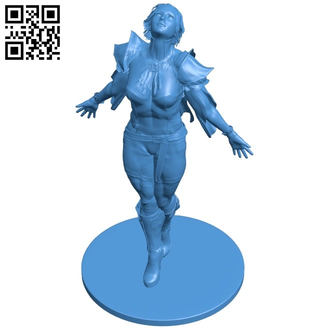 Wanderer women B008118 file stl free download 3D Model for CNC and 3d printer
