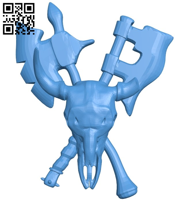 Warsong amulet B008108 file stl free download 3D Model for CNC and 3d printer