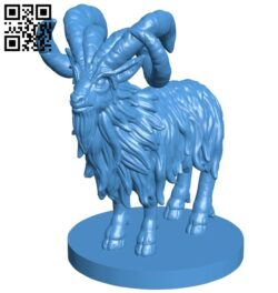 Woe Goat B008044 file stl free download 3D Model for CNC and 3d printer