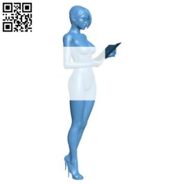 Women B008255 file stl free download 3D Model for CNC and 3d printer