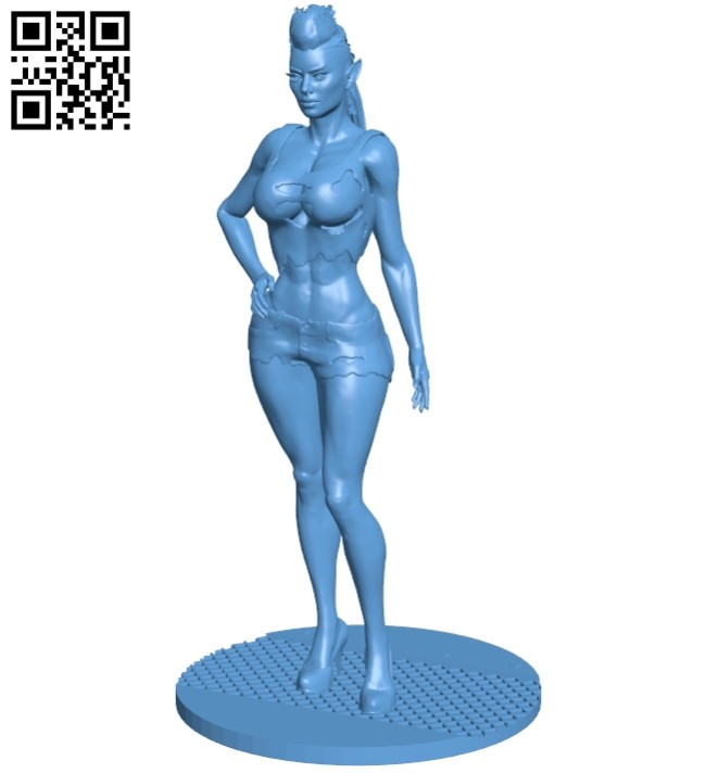 Women B008264 file stl free download 3D Model for CNC and 3d printer