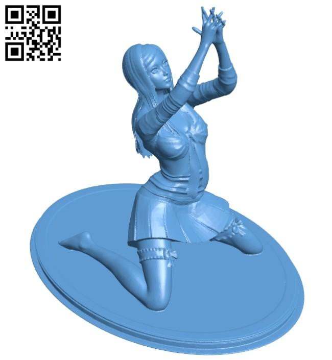 Women B008322 file stl free download 3D Model for CNC and 3d printer