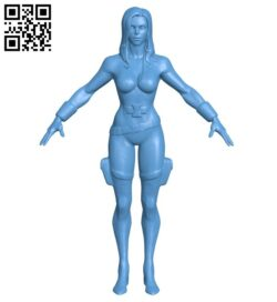Women – black widow B008189 file stl free download 3D Model for CNC and 3d printer