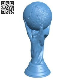 World cup B008250 file stl free download 3D Model for CNC and 3d printer