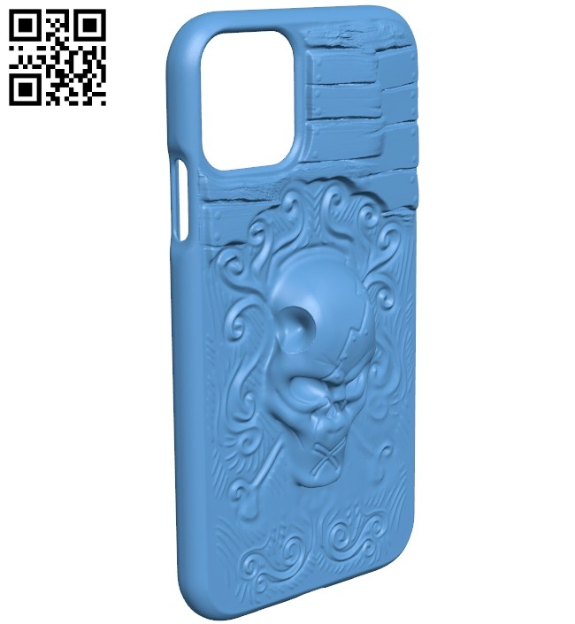 iPhone 11 - Smartphone case B008256 file stl free download 3D Model for CNC and 3d printer