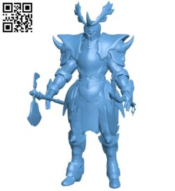 Berserker soul of the ultimate nation B008579 file stl free download 3D Model for CNC and 3d printer