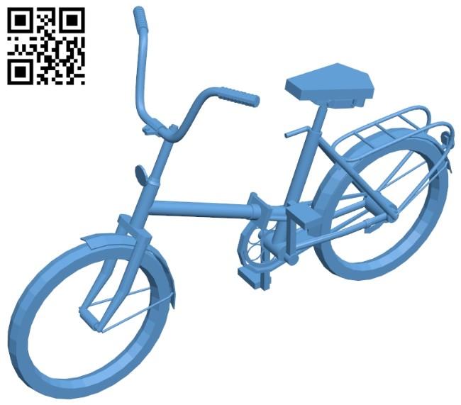 Bike kama B008418 file stl free download 3D Model for CNC and 3d printer