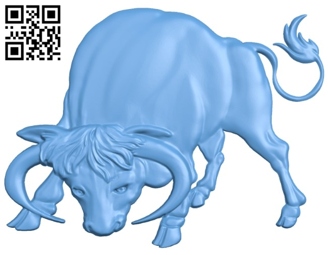 Buffalo A005511 download free stl files 3d model for CNC wood carving