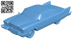 Car Plymouth B008527 file stl free download 3D Model for CNC and 3d printer