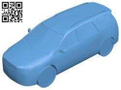 Car gmc acadia B008533 file stl free download 3D Model for CNC and 3d printer