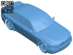 Car red bmw B008395 file stl free download 3D Model for CNC and 3d printer