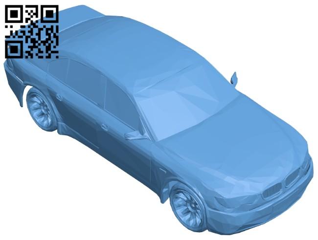 Car red bmw B008395 file stl free download 3D Model for CNC and 3d printer