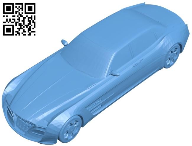 Car regalia B008505 file stl free download 3D Model for CNC and 3d printer