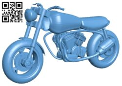 City bike B008557 file stl free download 3D Model for CNC and 3d printer