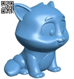 Cleo the cat B008335 file stl free download 3D Model for CNC and 3d printer