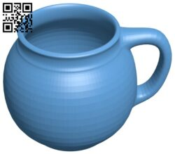 Convex Mug B008483 file stl free download 3D Model for CNC and 3d printer