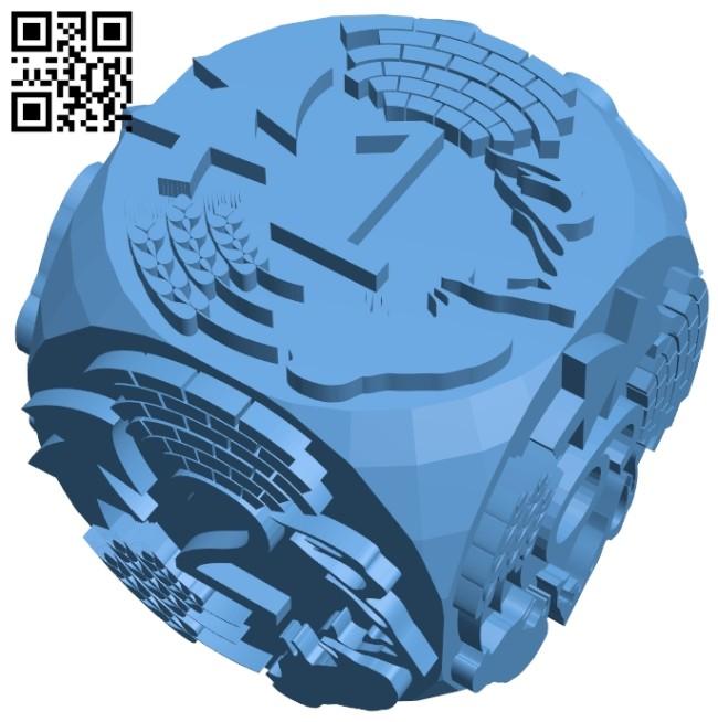 Cube B008618 file stl free download 3D Model for CNC and 3d printer