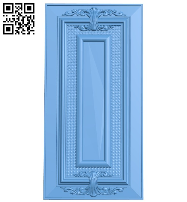 Door pattern A005453 download free stl files 3d model for CNC wood carving