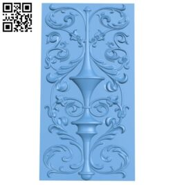 Door pattern A005546 download free stl files 3d model for CNC wood carving