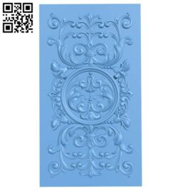 Door pattern A005548 download free stl files 3d model for CNC wood carving