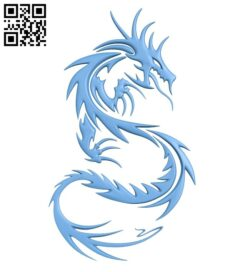 Dragon A005593 download free stl files 3d model for CNC wood carving