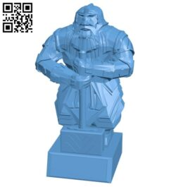 Mr Dwarven Paragon B008375 file stl free download 3D Model for CNC and 3d printer