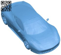 Fast car B008382 file stl free download 3D Model for CNC and 3d printer