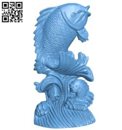 Fish B008546 file stl free download 3D Model for CNC and 3d printer