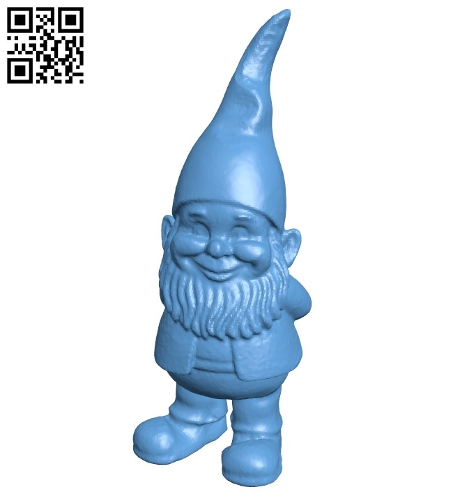 Gnome B008378 file stl free download 3D Model for CNC and 3d printer