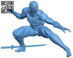 Gray fox B008359 file stl free download 3D Model for CNC and 3d printer