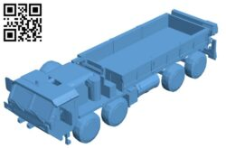 HEMTT Truck B008577 file stl free download 3D Model for CNC and 3d printer