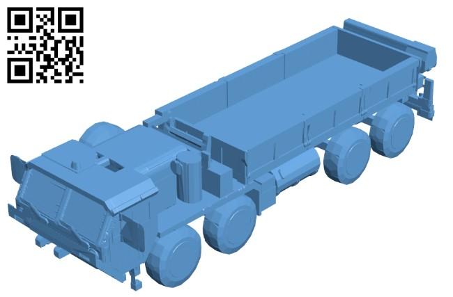 HEMTT Truck B008577 file stl free download 3D Model for CNC and 3d printer