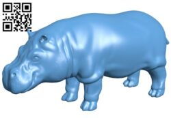Happy hippo B008367 file stl free download 3D Model for CNC and 3d printer