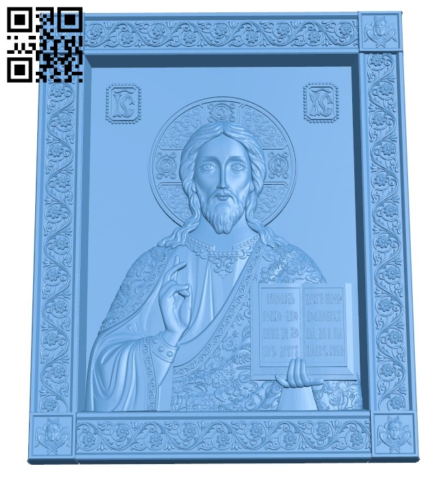 Icon Almighty A005541 download free stl files 3d model for CNC wood carving