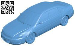 Impala car B008573 file stl free download 3D Model for CNC and 3d printer