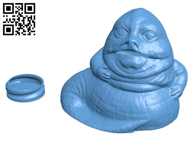 Jabba bank B008337 file stl free download 3D Model for CNC and 3d printer