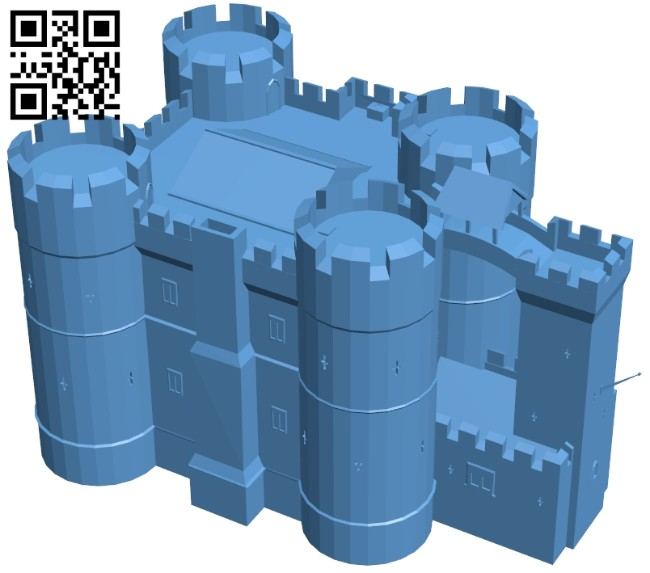 Keep large - house B008472 file stl free download 3D Model for CNC and 3d printer