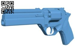 Magnum hQ – gun B008429 file stl free download 3D Model for CNC and 3d printer