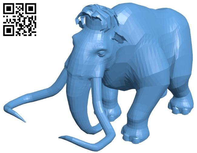 Manny B008408 file stl free download 3D Model for CNC and 3d printer