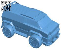 Mercedes car B008593 file stl free download 3D Model for CNC and 3d printer