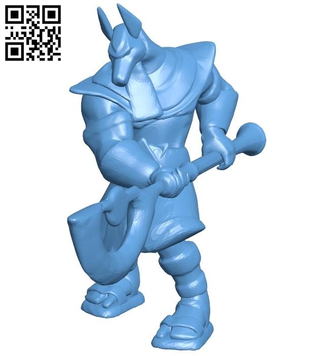 Mercury anubis repaired B008369 file stl free download 3D Model for CNC and 3d printer