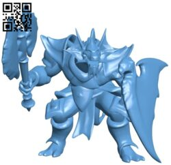 Mercury  dragon repaired B008371 file stl free download 3D Model for CNC and 3d printer