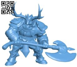 Mercury knight repaired B008373 file stl free download 3D Model for CNC and 3d printer